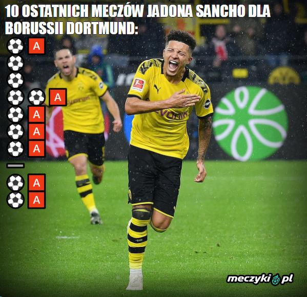 Sancho utrzymuje wysoką formę