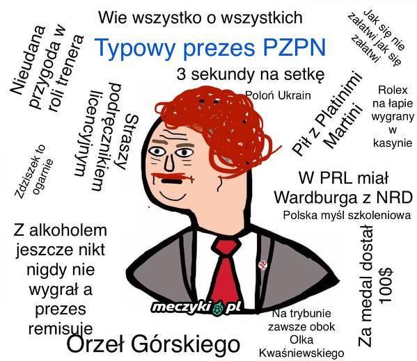Typowy prezes PZPN