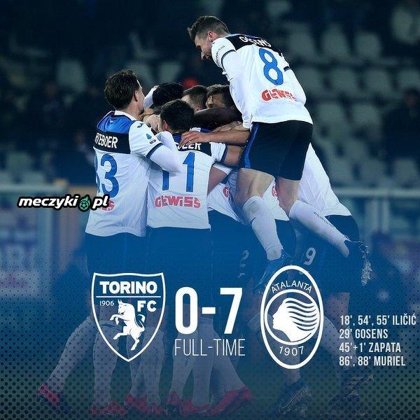 Atalanta rozgromiła Torino