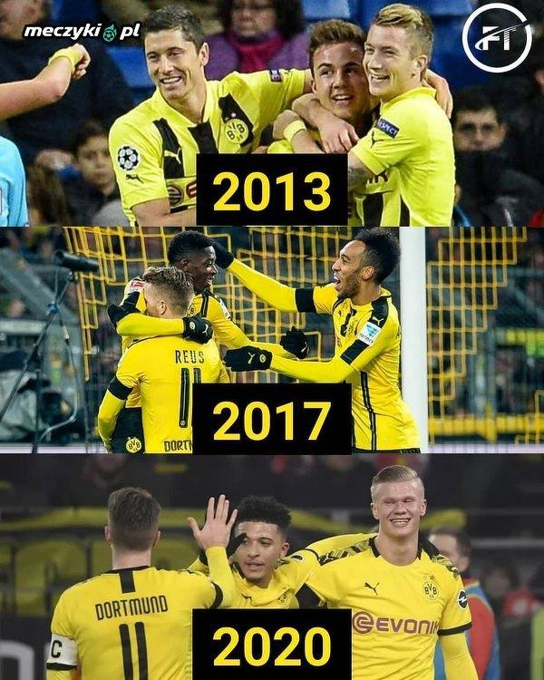 Nowe trio w Dortmundzie