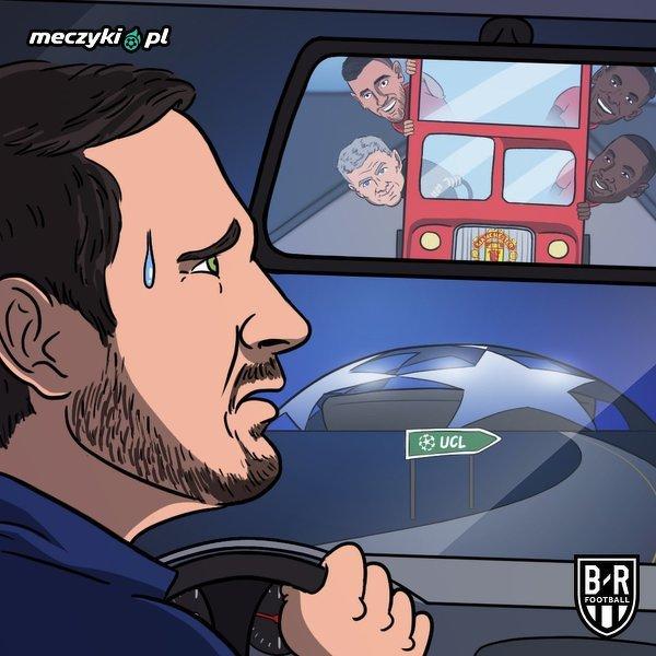 Solskjaer dogonił Lamparda