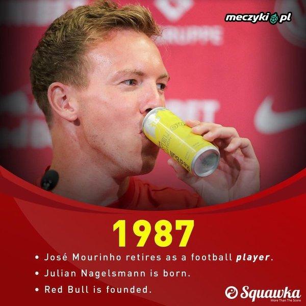 Przypomnienie: Julian Nagelsmann miał 16 lat, kiedy José Mourinho zdobył swój pierwszy tytuł LM w FC Porto w 2004 roku