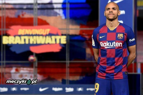 Martin Braithwaite został zaprezentowany jako piłkarz FC Barcelony