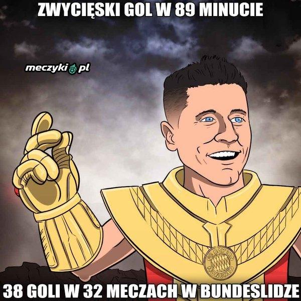 Lewandowski błyszczy w Bayernie