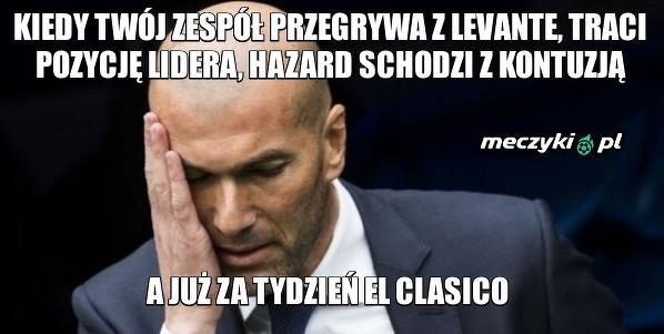 Zidane ma duży problem