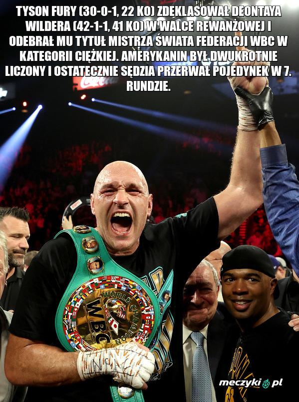 Tyson Fury wrócił na tron