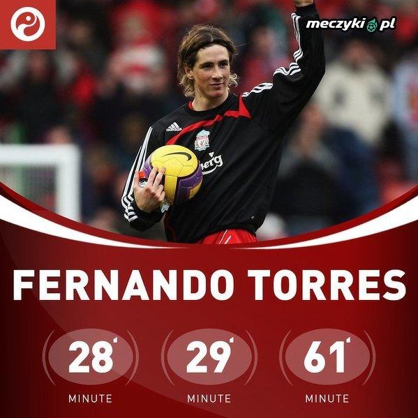 12 lat temu Fernando Torres został pierwszym Hiszpanem, który zdobył hat-tricka w Premier League