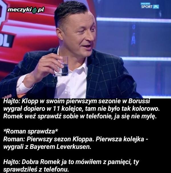 """Hajto zablysnął w """"Cafe Futbol"""""""