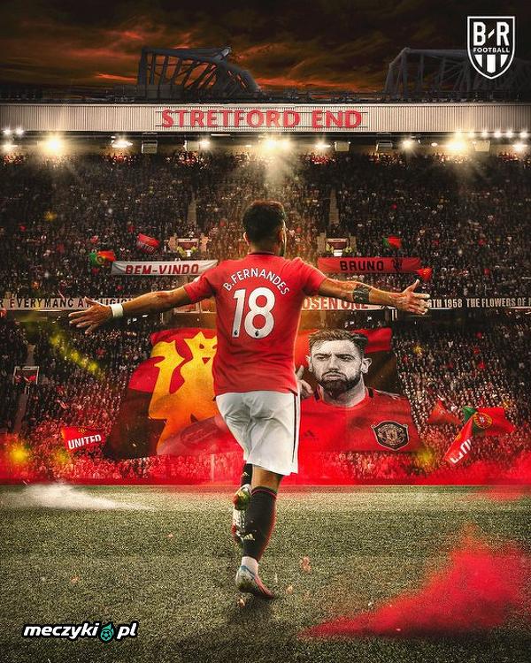 Bruno Fernandes strzelił pierwszego gola w barwach Manchesteru United