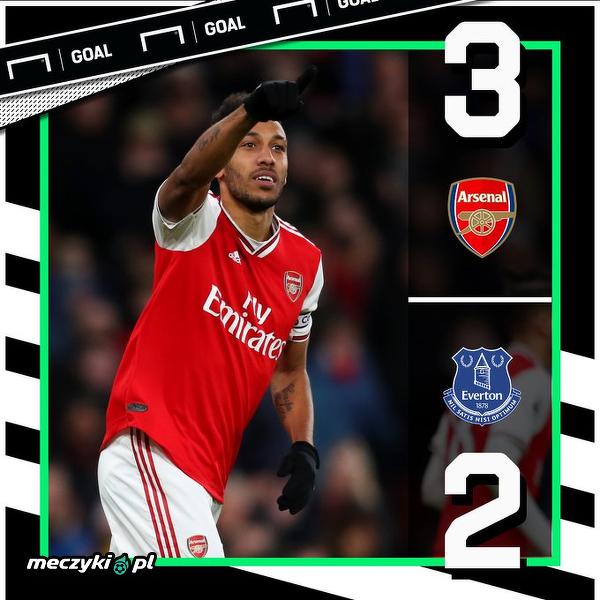 Arsenal pokonał Everton