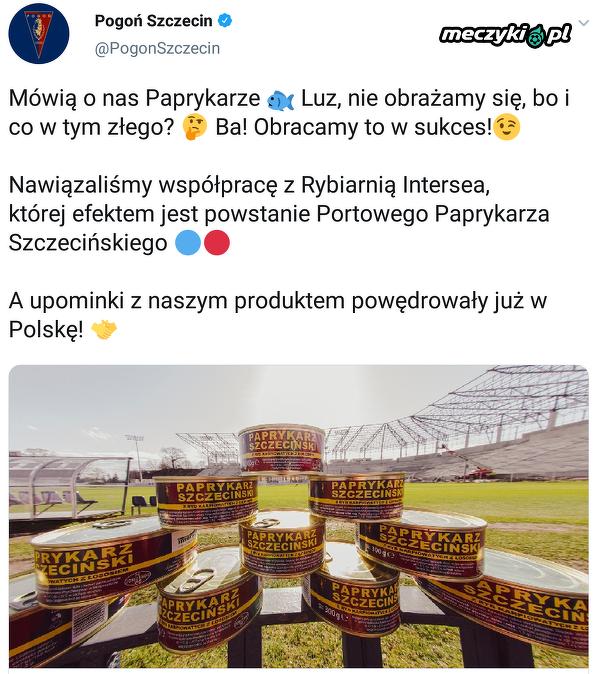 Pogoń Szczecin umie w marketing