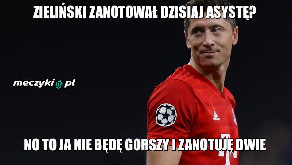 Lewandowski zaliczył dwie asysty!