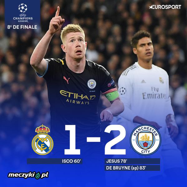 Real przegrywa z Manchesterem City