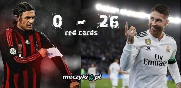 Ci dwaj obrońcy zdobyli przez całą karierę łącznie 26 czerwonych kartek