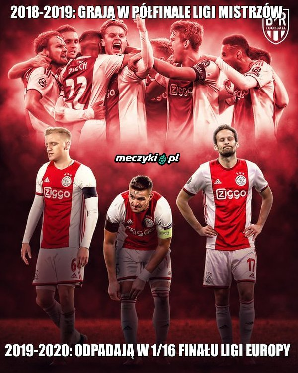 Ajax kończy swoją przygodę w europejskich pucharach