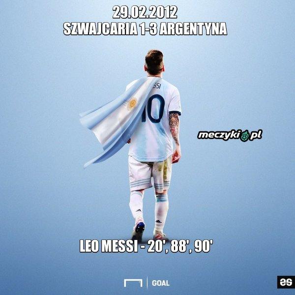Dokładnie 8 lat temu Leo Messi strzelił pierwszego hat-tricka dla reprezentacji Argentyny