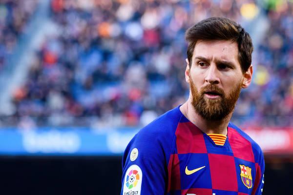 """Szef PSG rozmawiał z Joanem Laportą o Leo Messim. """"Powiedziałem mu o tym"""""""