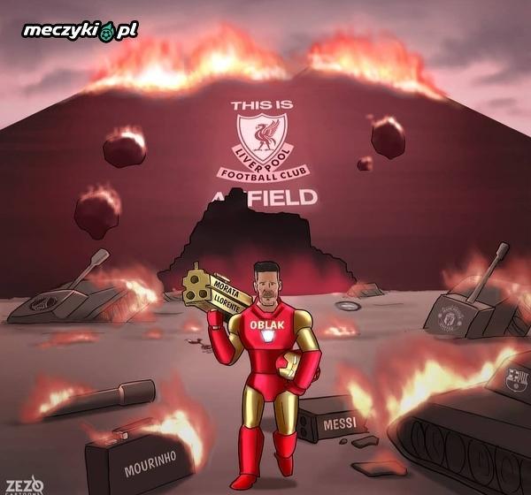 Simeone opanował Anfield