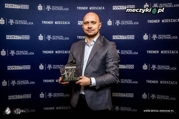 Skowronek trenerem miesiąca w Ekstraklasie