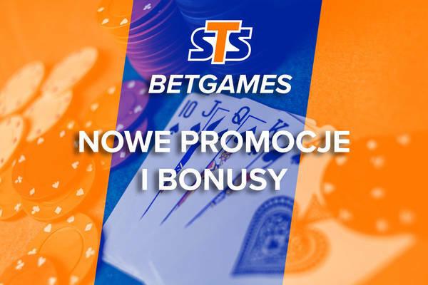 STS Betgames bonus + promocja do 1305 PLN + Cashback + Freebet
