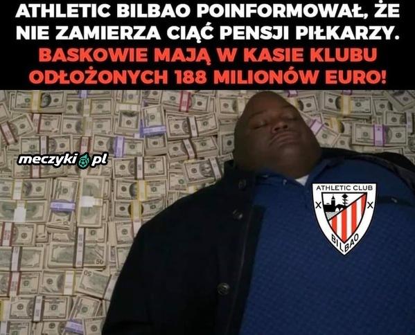 Tymczasem Athletic Bilbao