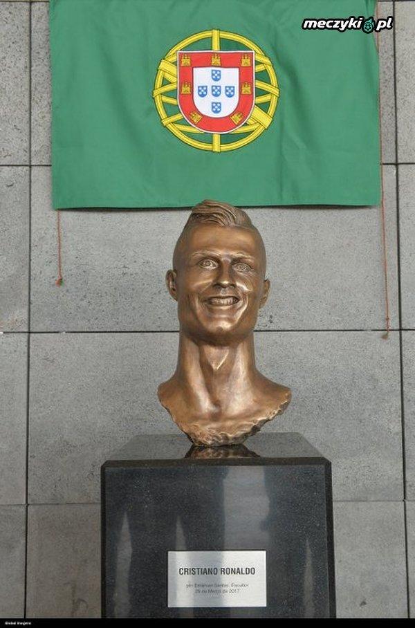 2 lata temu została zaprezentowana rzeźba Cristiano Ronaldo