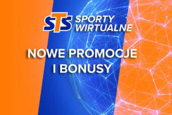 STS sporty wirtualne bonus + promocja do 1285 PLN + Cashback + Freebet