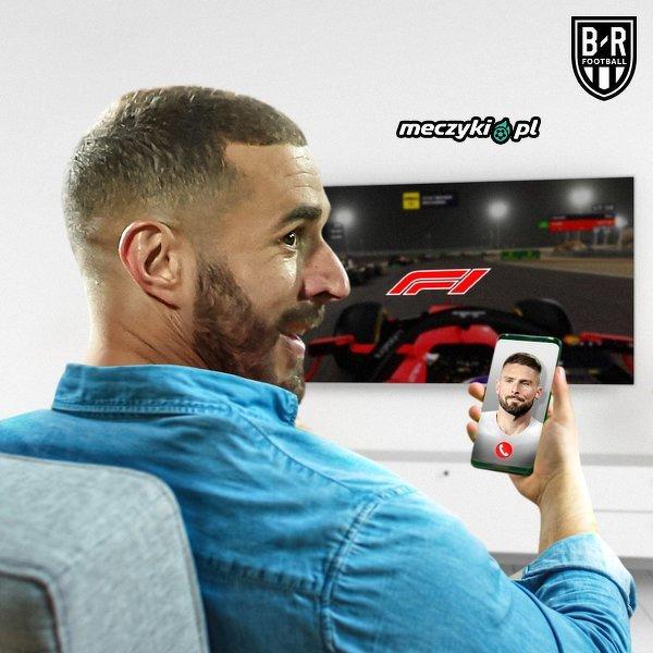 Karim Benzema w czasie kwarantanny