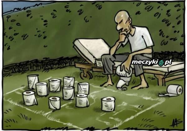 Zidane w okresie kwarantanny