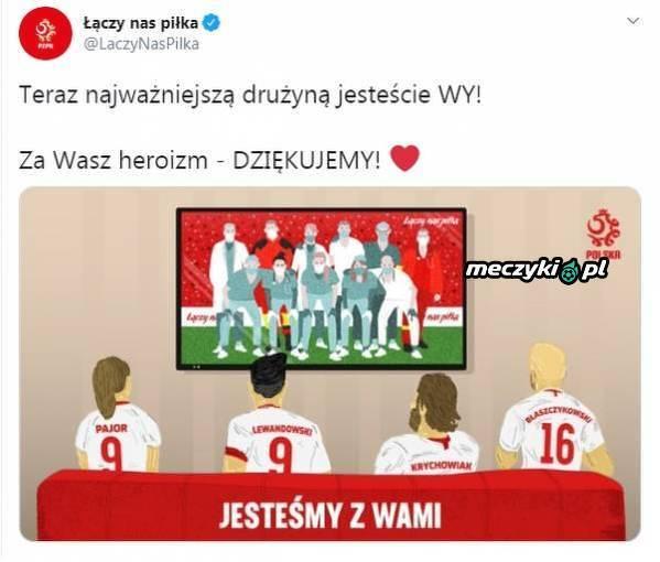 """""""Łączy nas piłka"""" wspiera personel medyczny"""