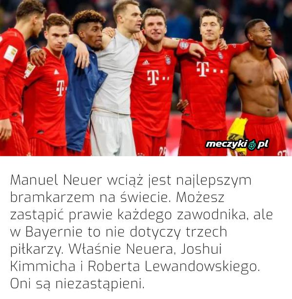 Lothar Matthaus wskazał trzech niezastąpionych piłkarzy w Bayernie