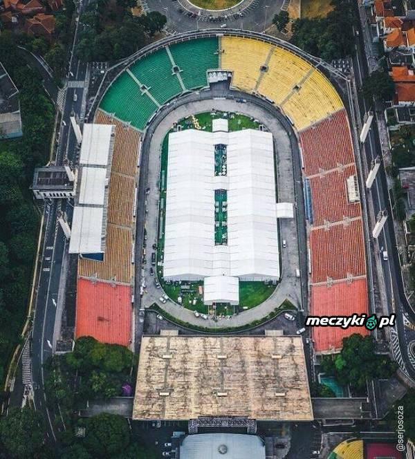 Stadion Corinthians został przekształcony w szpital