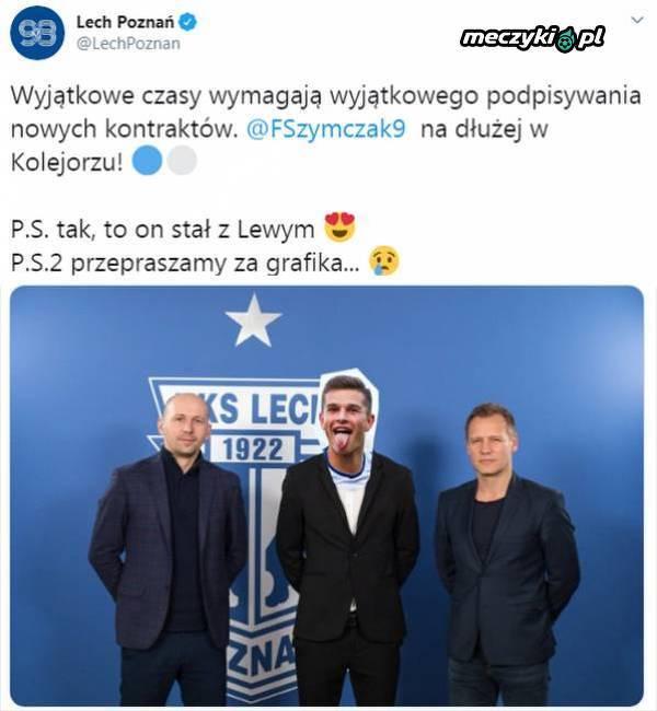 W taki sposób Lech poinformował o przedłużeniu kontraktu z piłkarzem