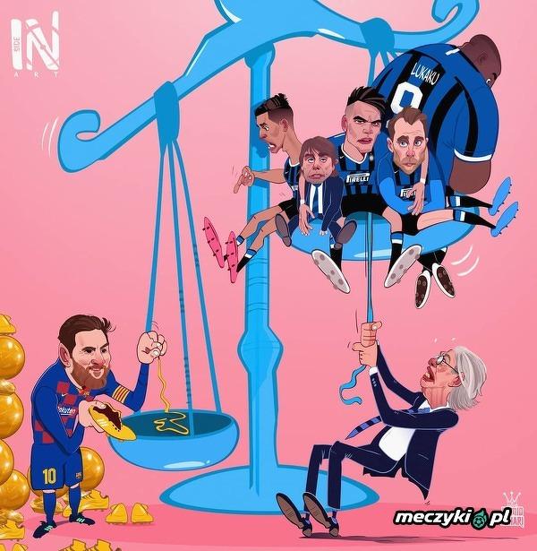 Były prezes Interu Massimo Moratti stwierdził, że przyjście Messiego do Nerrazurich nie jest nierealne