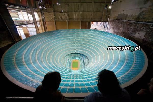 Meksykanin zaprojektował stadnion dla 1 mln kibiców