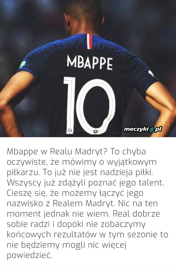 Casillas o Mbappe w Realu