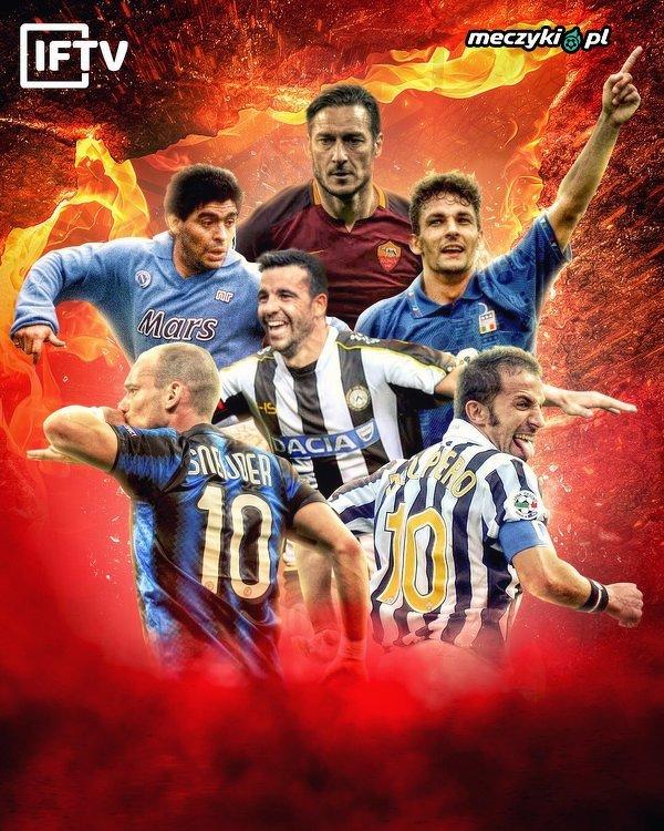 """Najlepsze """"10-tki"""" w historii Serie A"""