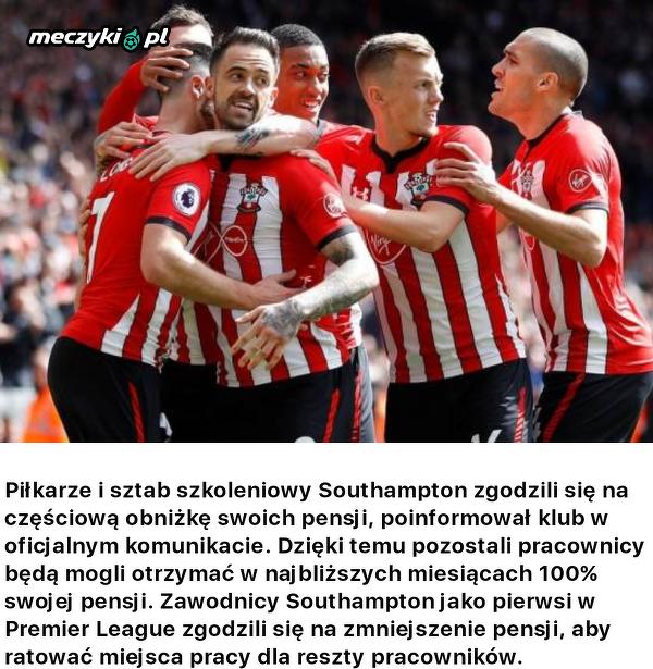 Obniżki pensji w Southampton