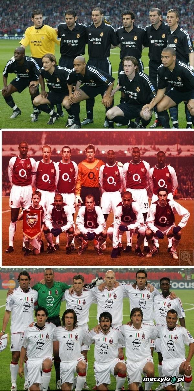 Najlepsze drużyny początku XXI wieku