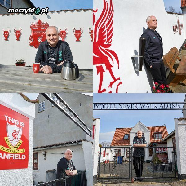 Kibic Liverpoolu z Danii i jego Anfield