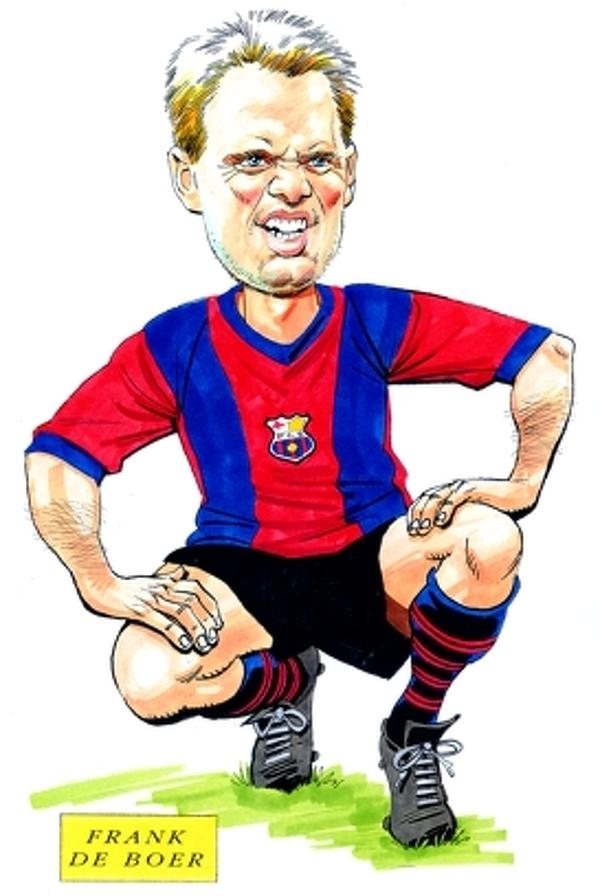 50 urodziny obchodzi dzisiaj Frank de Boer!