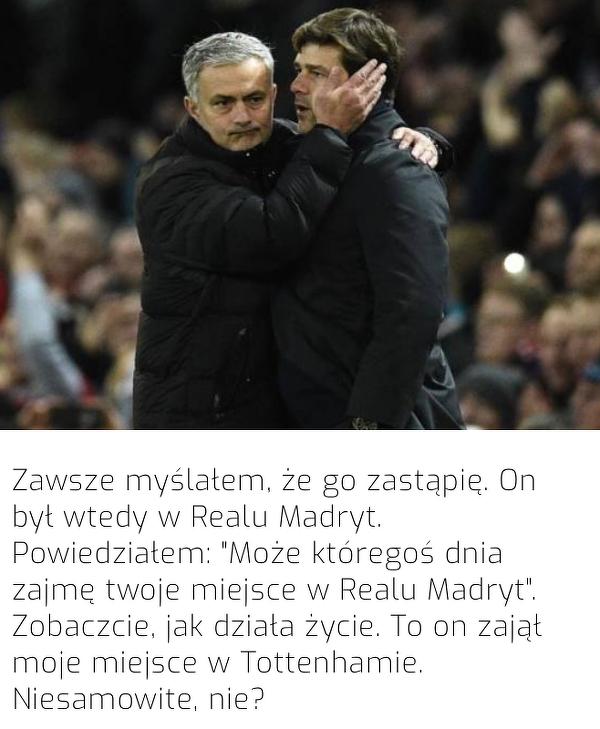 Pochettino myślał, że zastąpi Mourinho w Realu