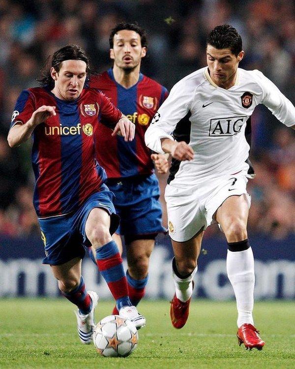 Pierwszy raz, gdy Ronaldo i Messi spotkali się na boisku