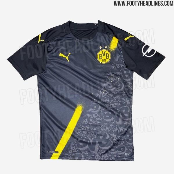 Wyjazdowa koszulka BVB na przyszły sezon