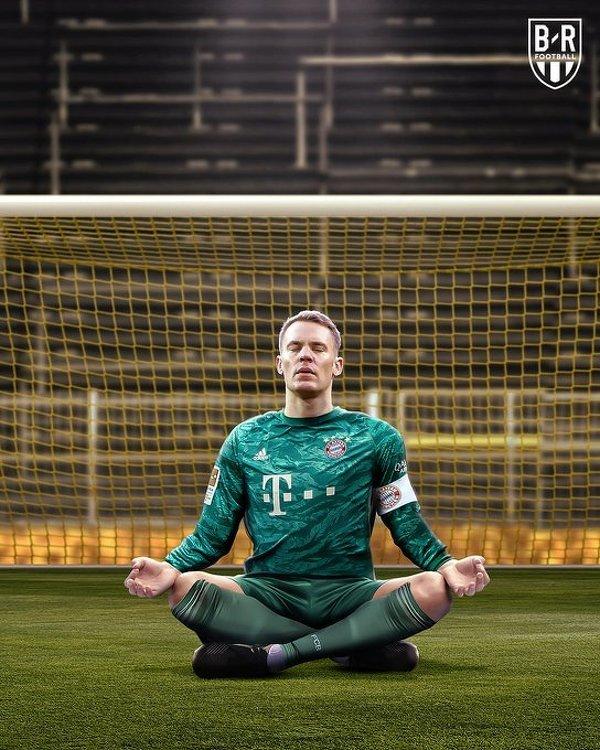Haaland nie znalazł sposobu na Neuera