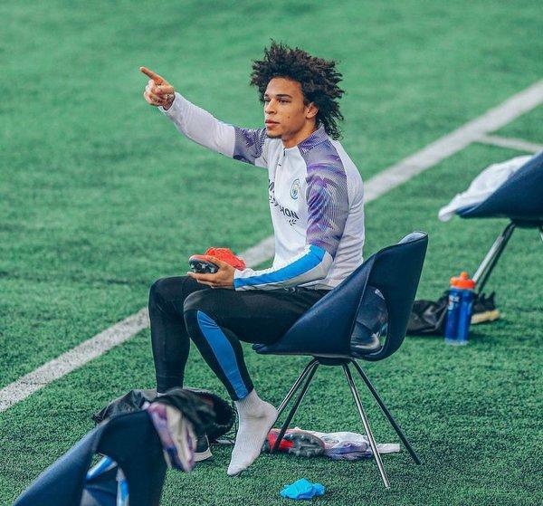 Leroy Sane powraca na boisko treningowe