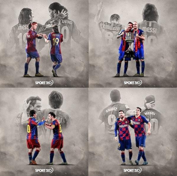 Leo Messi miał wielu świetnych partnerów