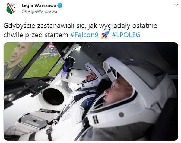 Ostatnie chwile przed lotem w kosmos