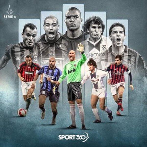 Najlepsi Brazylijczycy w historii Serie A