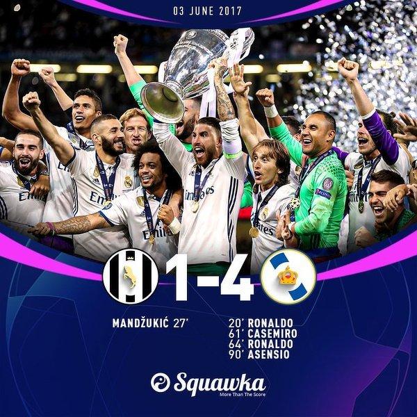 Dokładnie 3 lata temu Real Madryt pokonał Juventus w finale Ligi Mistrzów